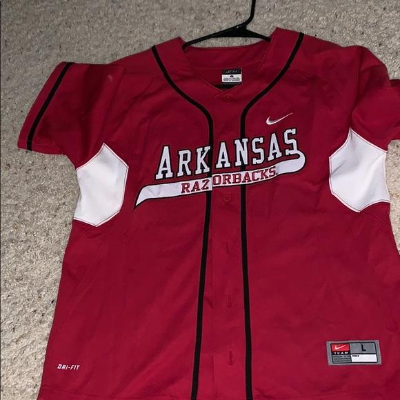 best cheap a5f4f 59d16 Arkansas Razorback Baseball Jersey